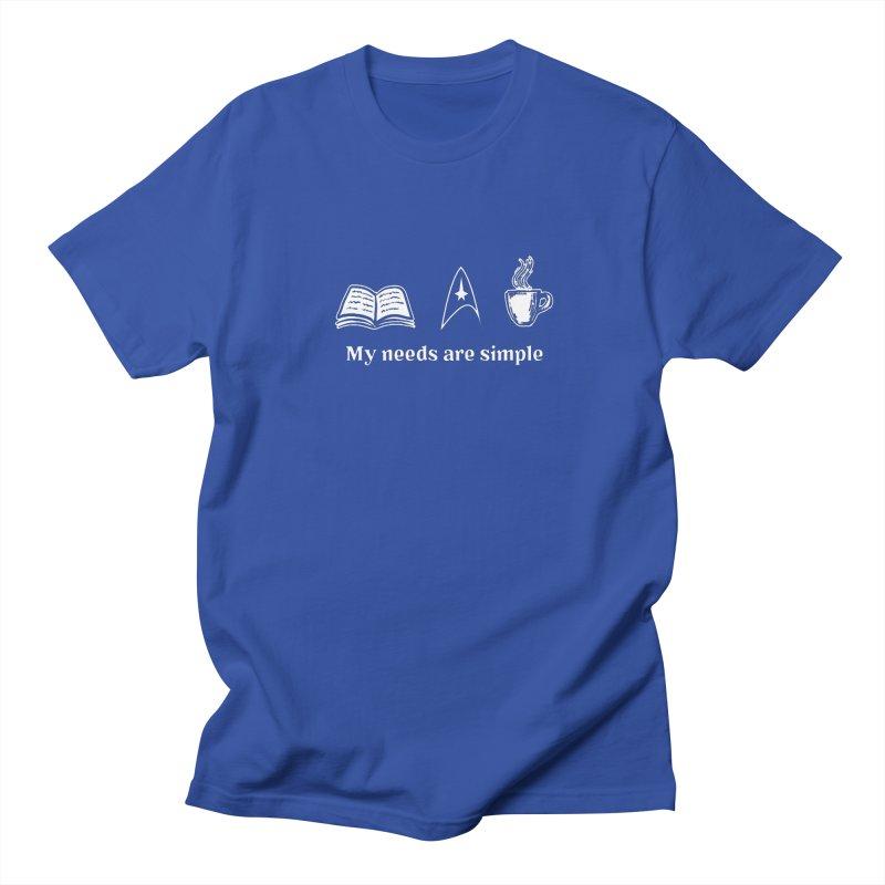 Simple Needs Men's T-shirt by khurst's Artist Shop