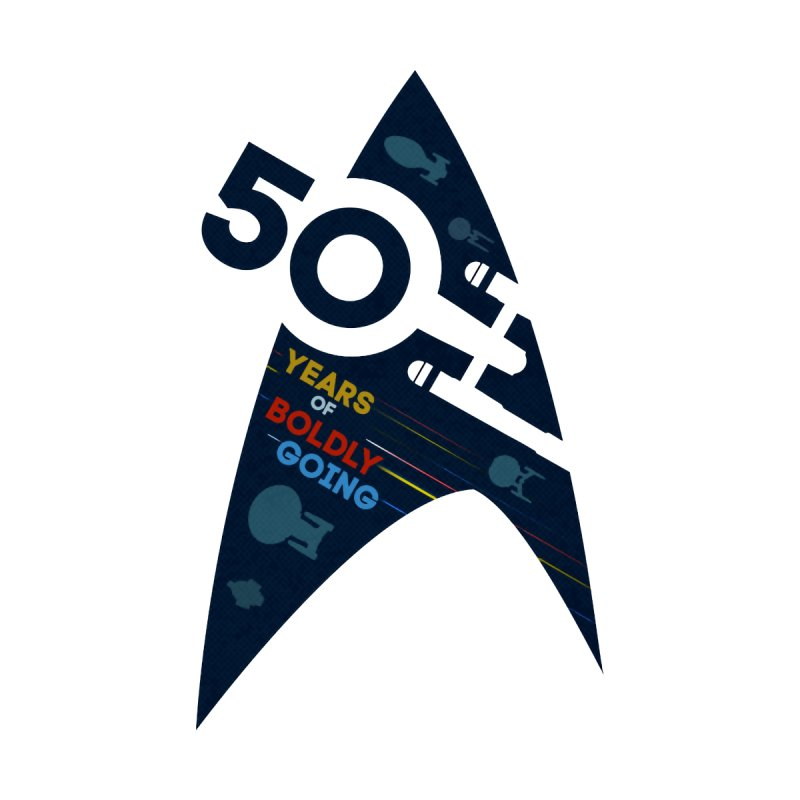 50 Years of Boldly Going None  by To Boldly Merch