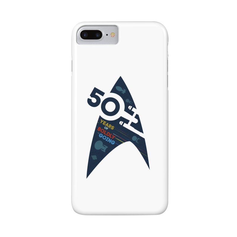 50 Years of Boldly Going Accessories Phone Case by khurst's Artist Shop
