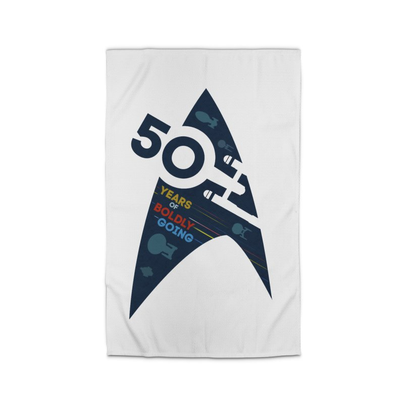 50 Years of Boldly Going Home Rug by khurst's Artist Shop
