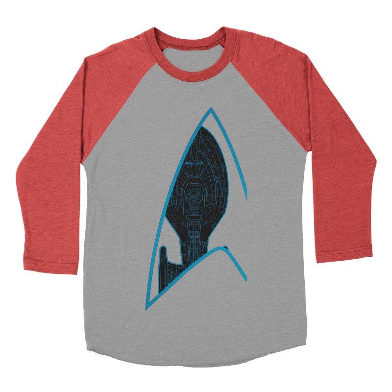 Voyager Delta Men's Baseball Triblend T-Shirt by khurst's Artist Shop