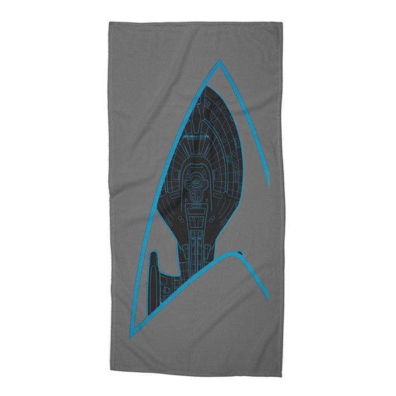 Voyager Delta Accessories Beach Towel by khurst's Artist Shop
