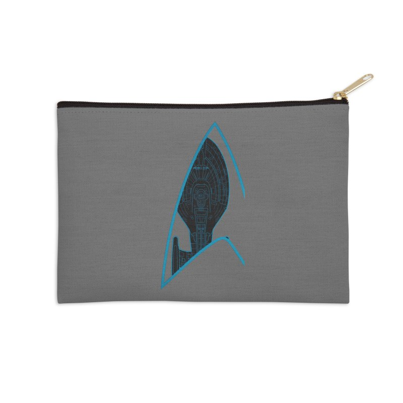 Voyager Delta Accessories Zip Pouch by khurst's Artist Shop