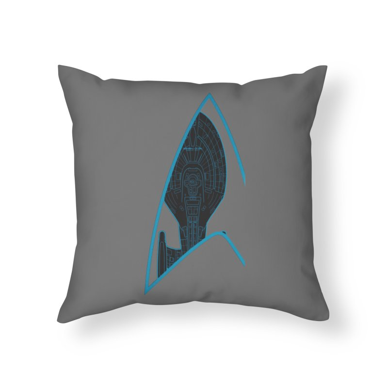 Voyager Delta Home Throw Pillow by khurst's Artist Shop