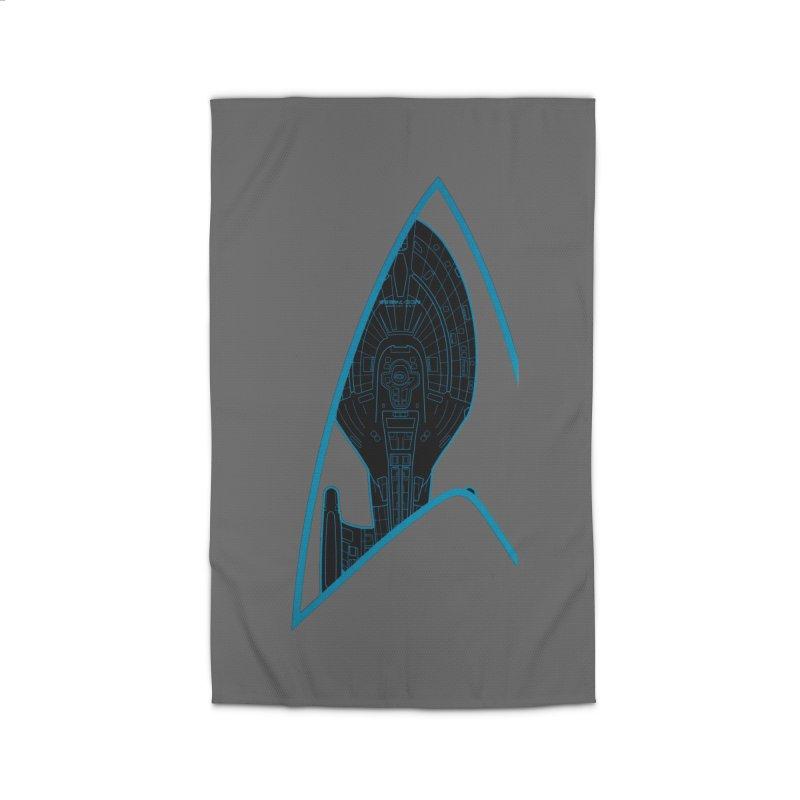 Voyager Delta Home Rug by khurst's Artist Shop