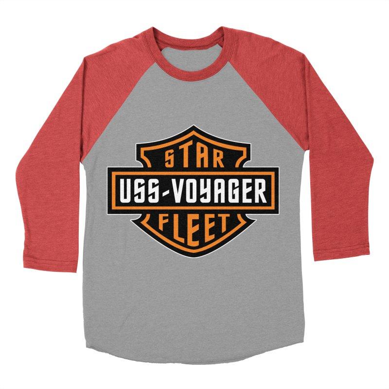 Harley Voyager Men's Baseball Triblend T-Shirt by khurst's Artist Shop