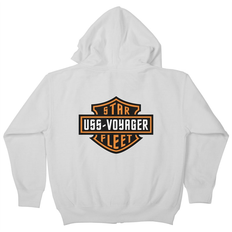 Harley Voyager Kids Zip-Up Hoody by To Boldly Merch