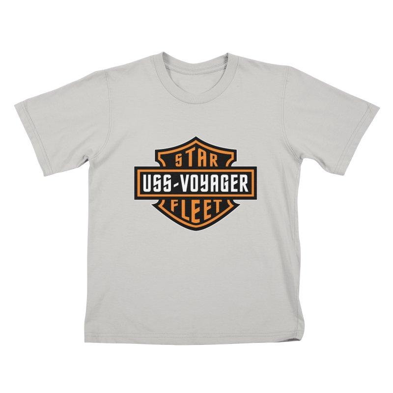 Harley Voyager Kids T-shirt by khurst's Artist Shop