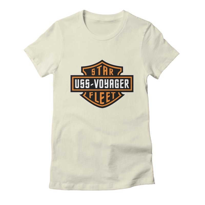 Harley Voyager Women's Fitted T-Shirt by khurst's Artist Shop