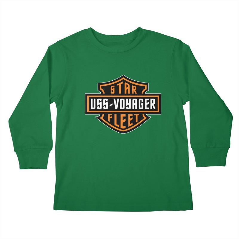 Harley Voyager Kids Longsleeve T-Shirt by khurst's Artist Shop