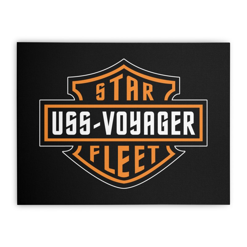 Harley Voyager Home Stretched Canvas by khurst's Artist Shop