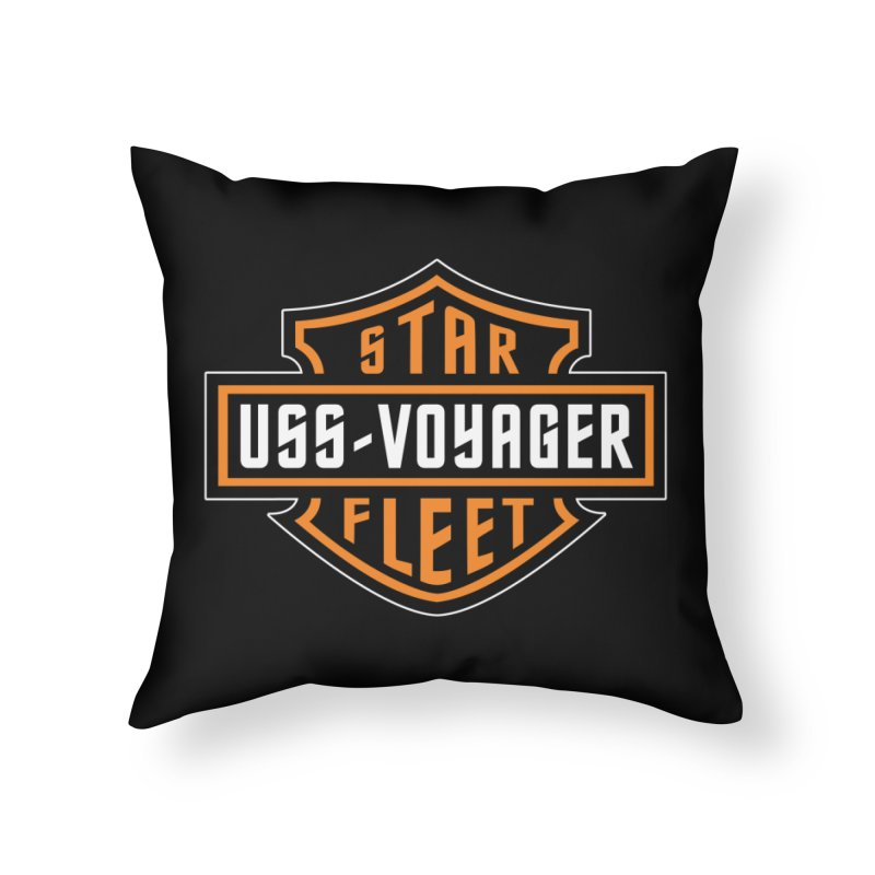 Harley Voyager Home Throw Pillow by khurst's Artist Shop