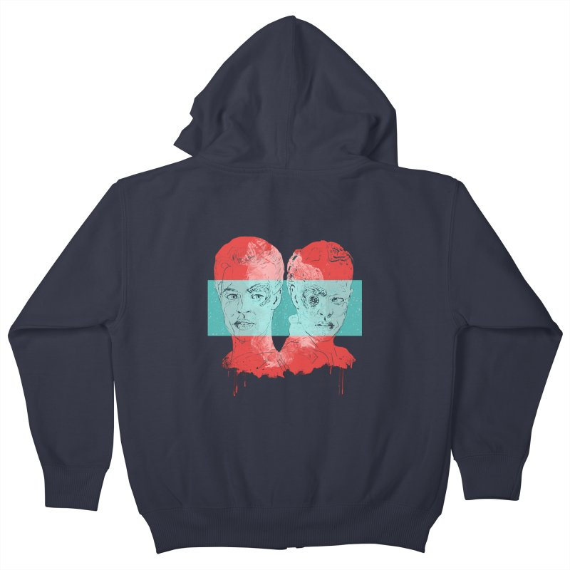 Assimilation Kids Zip-Up Hoody by To Boldly Merch