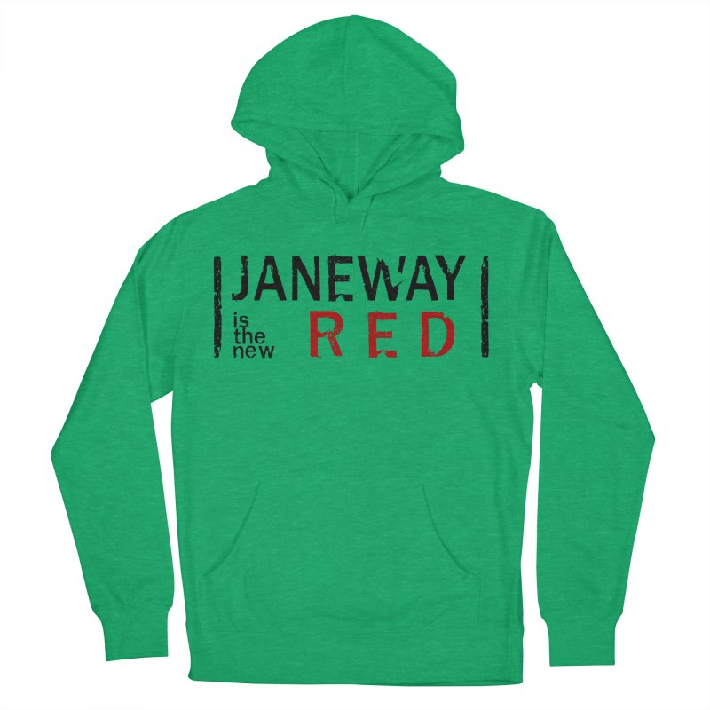 Janeway is the new Red Women's Pullover Hoody by khurst's Artist Shop