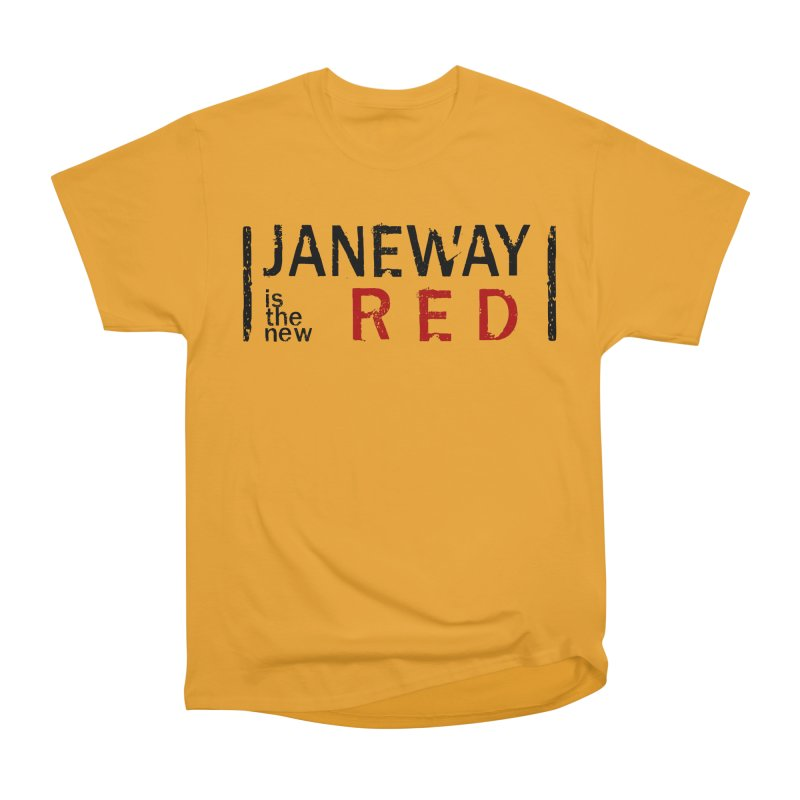Janeway is the new Red Women's Classic Unisex T-Shirt by khurst's Artist Shop