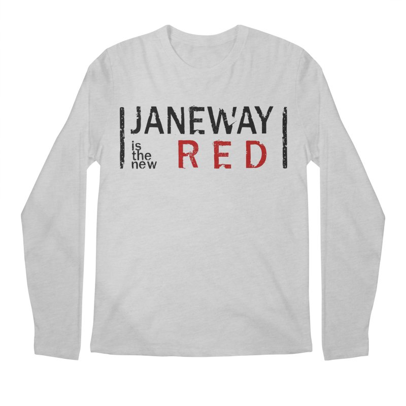 Janeway is the new Red Men's Longsleeve T-Shirt by khurst's Artist Shop