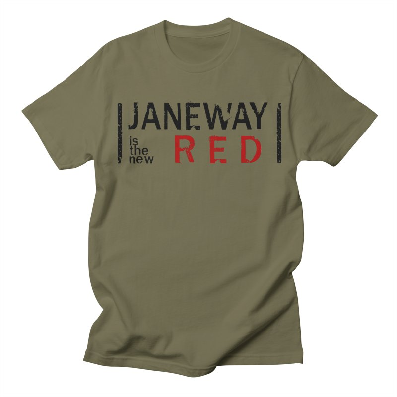 Janeway is the new Red Men's T-shirt by khurst's Artist Shop
