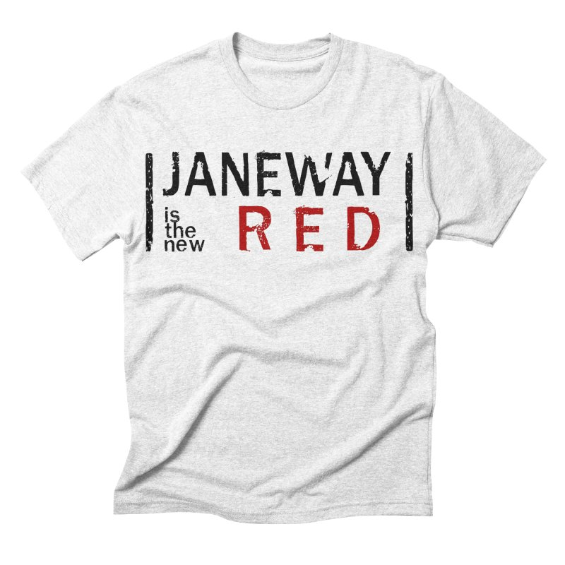 Janeway is the new Red Men's Triblend T-shirt by khurst's Artist Shop