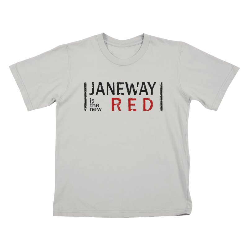Janeway is the new Red Kids T-shirt by khurst's Artist Shop