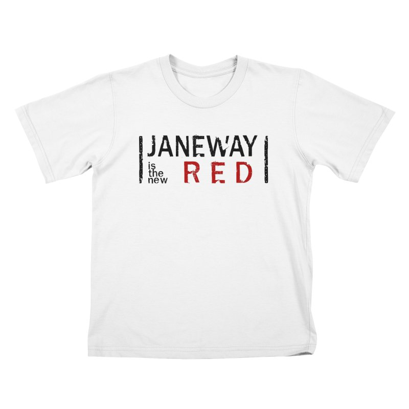 Janeway is the new Red Kids T-shirt by To Boldly Merch