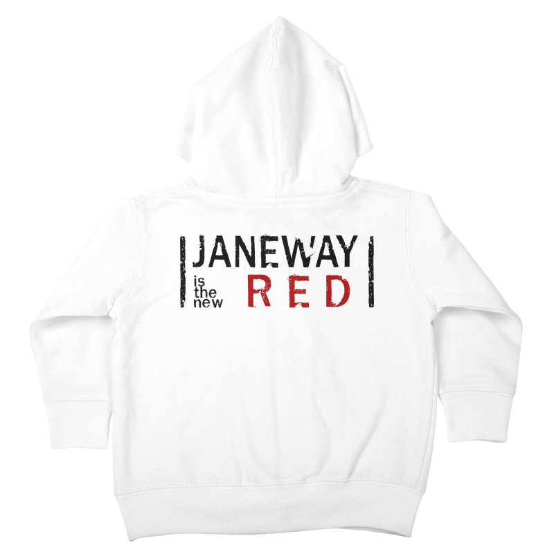 Janeway is the new Red Kids Toddler Zip-Up Hoody by khurst's Artist Shop
