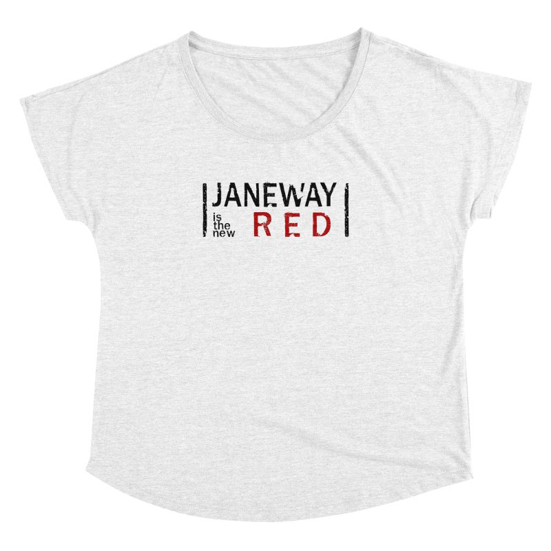 Janeway is the new Red Women's Dolman by khurst's Artist Shop
