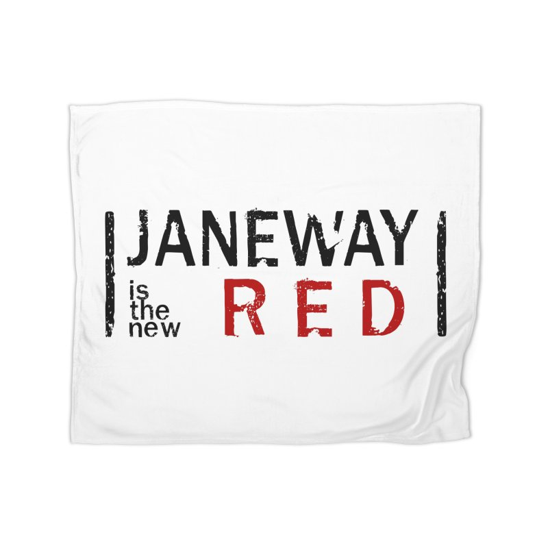 Janeway is the new Red Home Blanket by khurst's Artist Shop