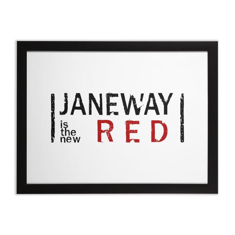 Janeway is the new Red Home Framed Fine Art Print by khurst's Artist Shop