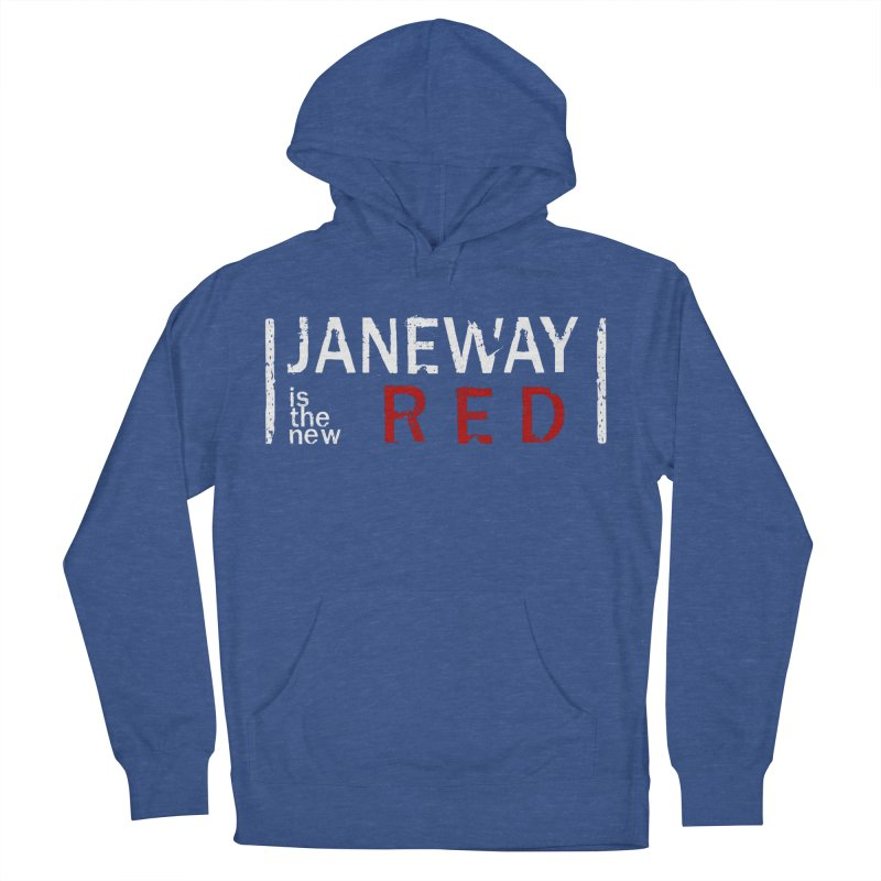 Janeway is the new Red Women's Pullover Hoody by To Boldly Merch