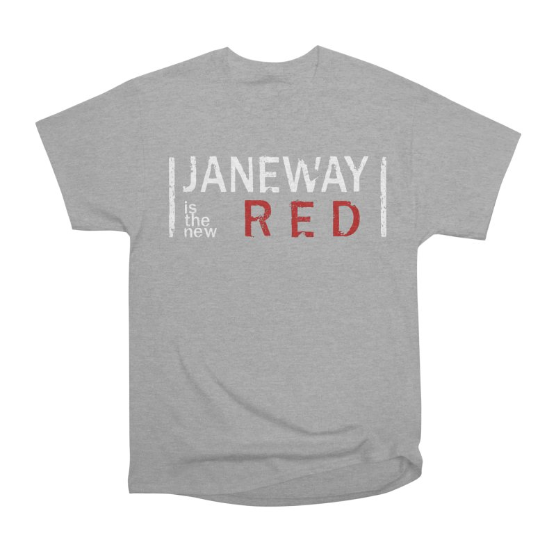 Janeway is the new Red Men's Classic T-Shirt by To Boldly Merch