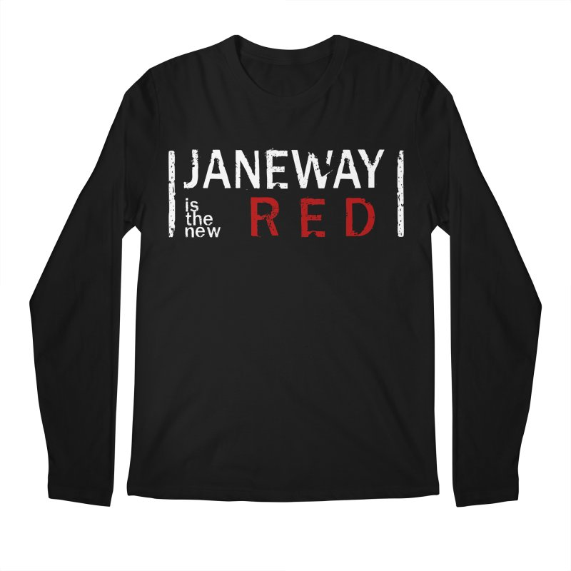 Janeway is the new Red Men's Longsleeve T-Shirt by To Boldly Merch