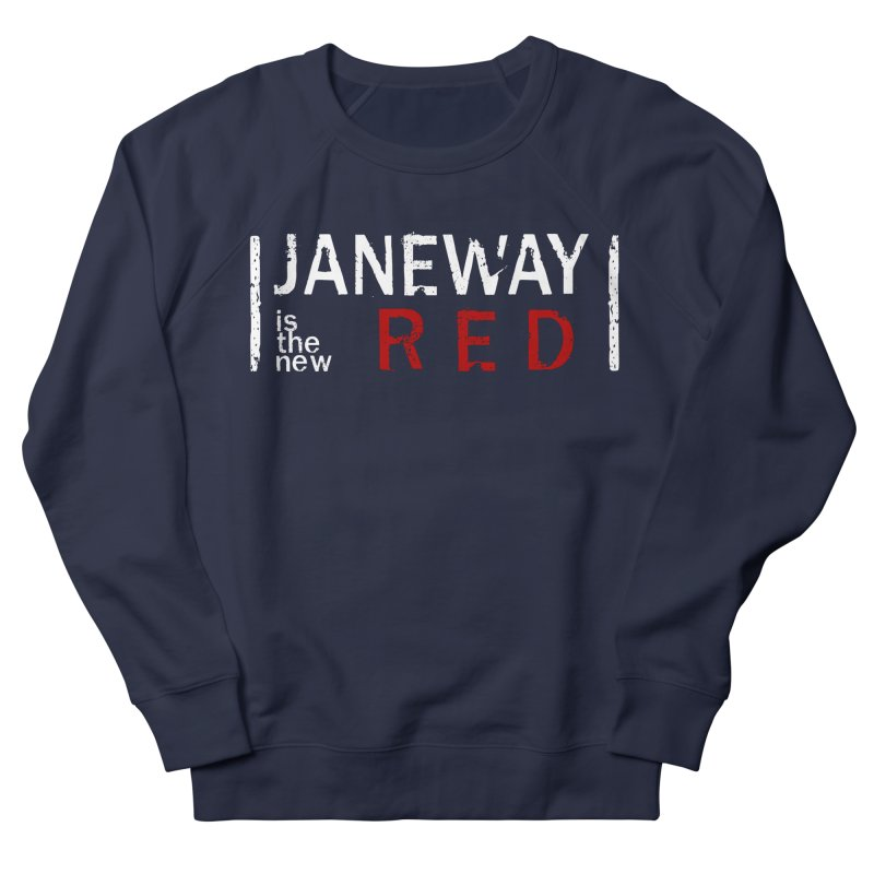 Janeway is the new Red Women's Sweatshirt by To Boldly Merch