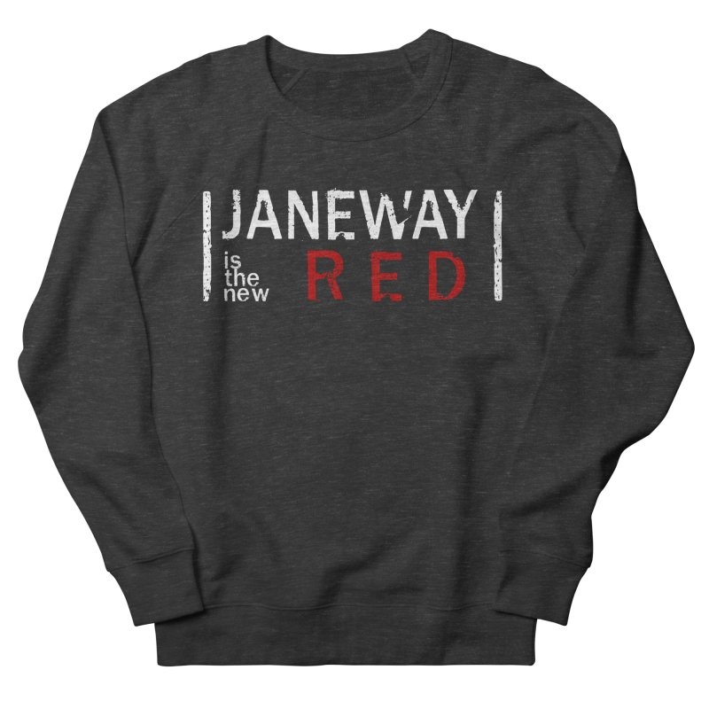 Janeway is the new Red Men's Sweatshirt by To Boldly Merch