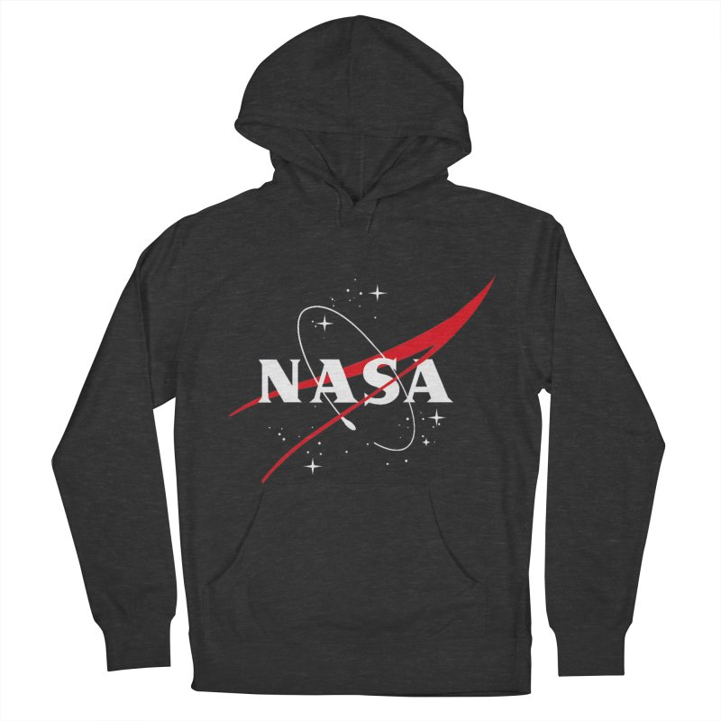 Pure NASA Women's French Terry Pullover Hoody by To Boldly Merch