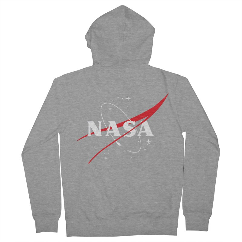 Pure NASA Women's Zip-Up Hoody by To Boldly Merch