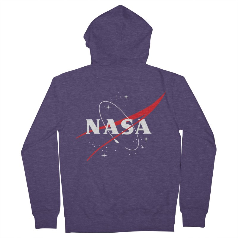 Pure NASA Men's Zip-Up Hoody by To Boldly Merch