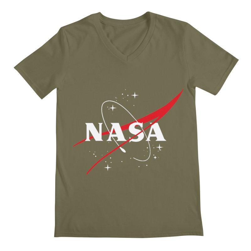 Pure NASA Men's V-Neck by To Boldly Merch