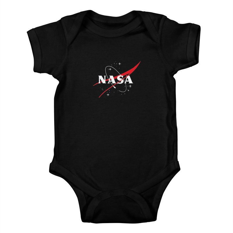 Pure NASA Kids Baby Bodysuit by To Boldly Merch