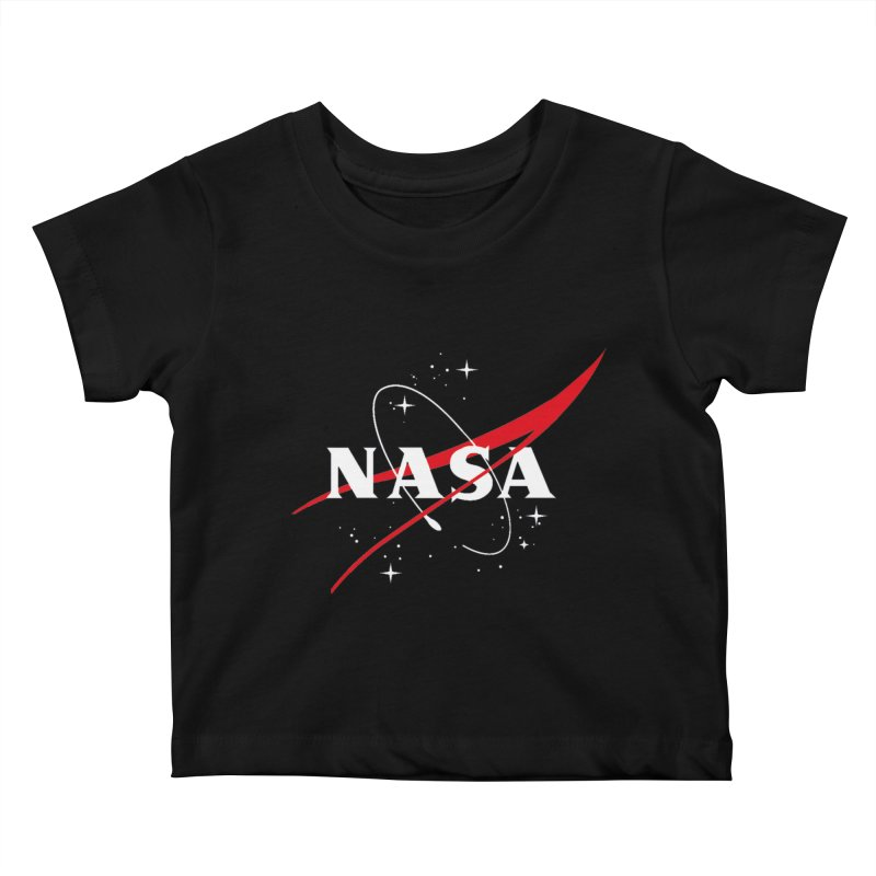 Pure NASA Kids Baby T-Shirt by To Boldly Merch