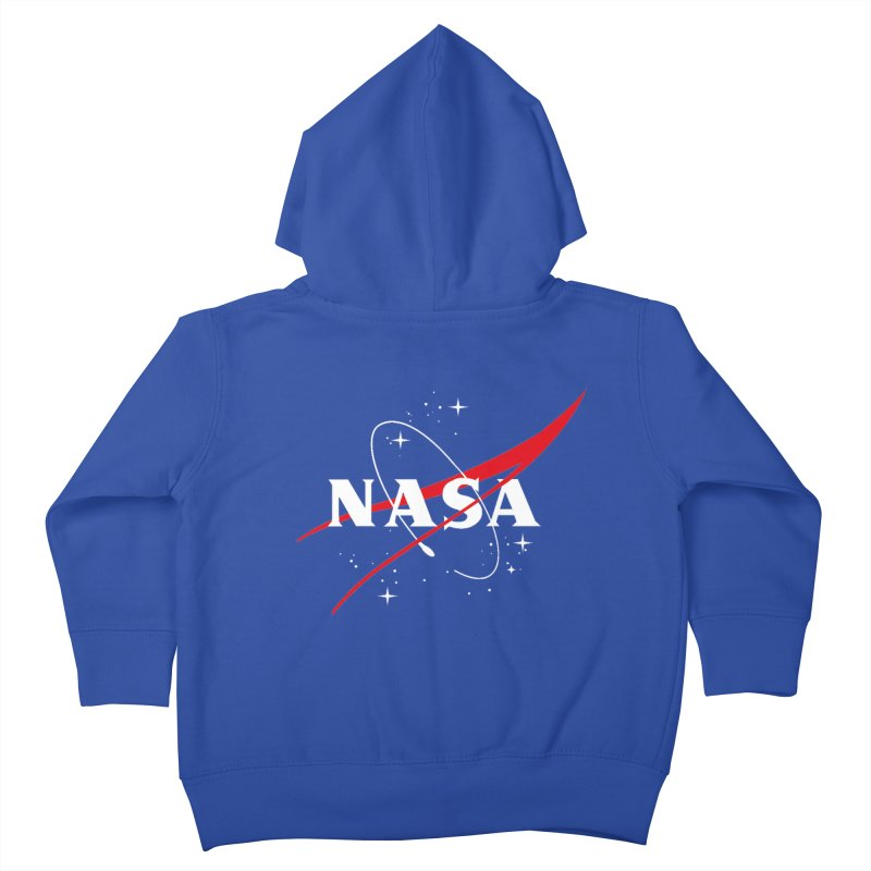 Pure NASA Kids Toddler Zip-Up Hoody by To Boldly Merch