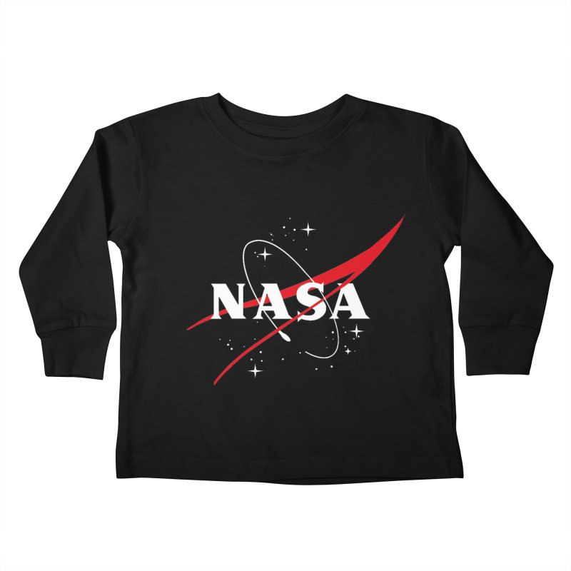 Pure NASA Kids Toddler Longsleeve T-Shirt by To Boldly Merch