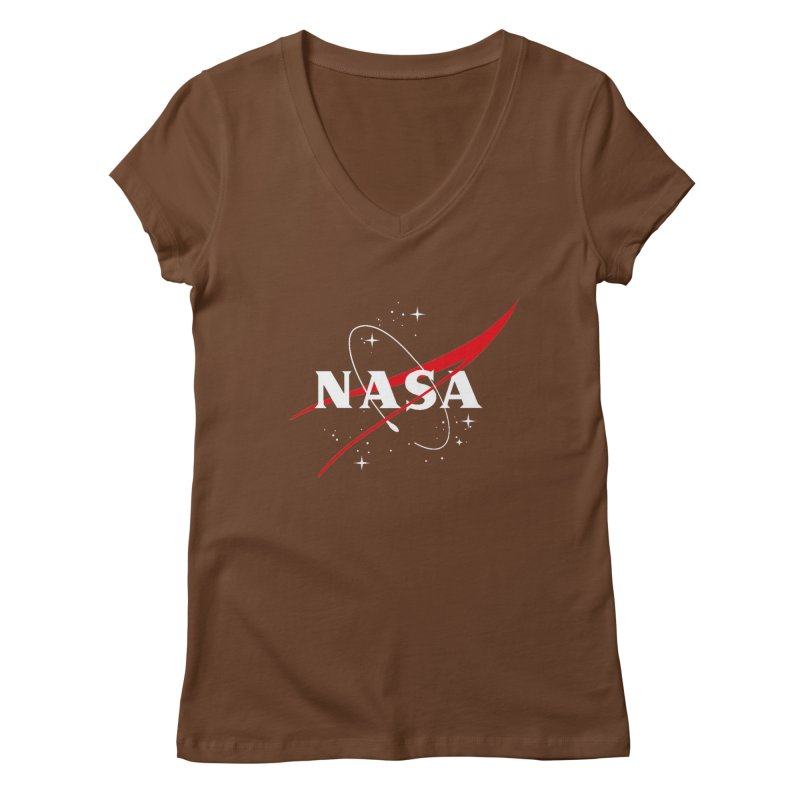 Pure NASA Women's V-Neck by To Boldly Merch