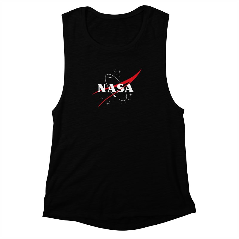 Pure NASA Women's Muscle Tank by To Boldly Merch
