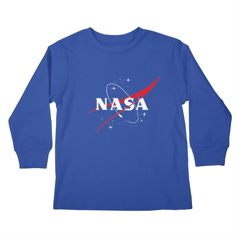 Pure NASA Kids Longsleeve T-Shirt by To Boldly Merch