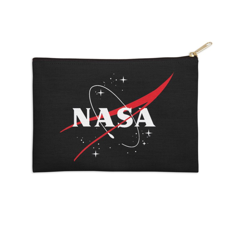Pure NASA Accessories Zip Pouch by To Boldly Merch