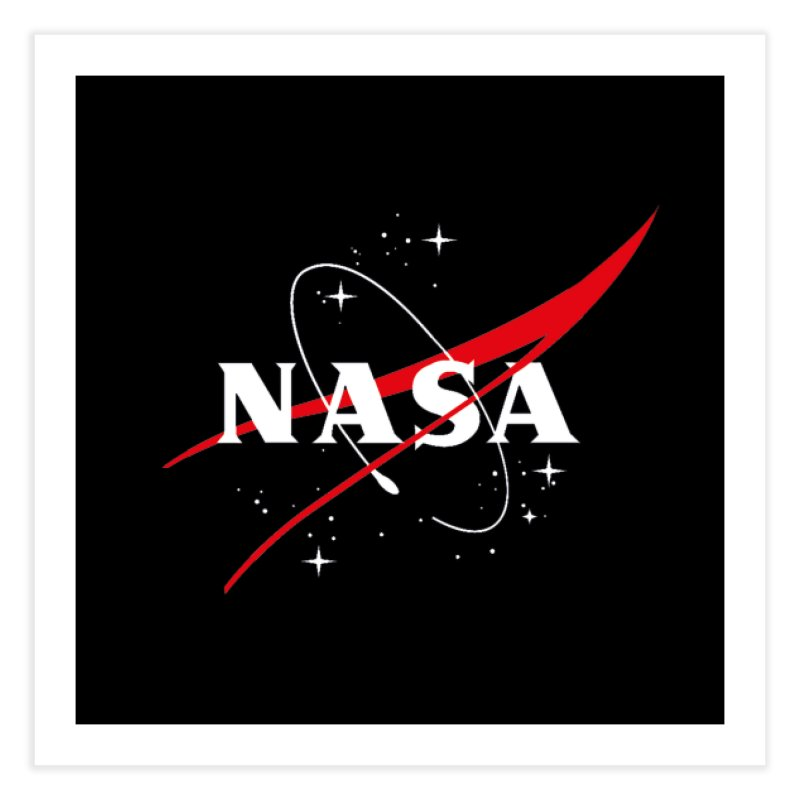 Pure NASA Home Fine Art Print by To Boldly Merch