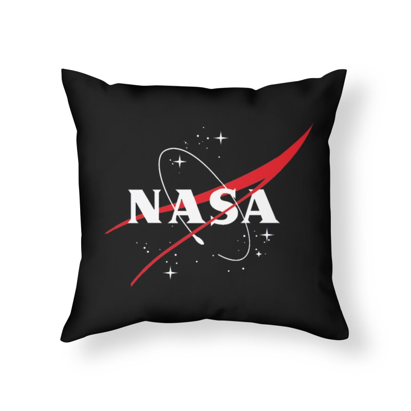 Pure NASA Home Throw Pillow by To Boldly Merch