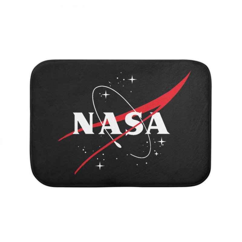Pure NASA Home Bath Mat by To Boldly Merch