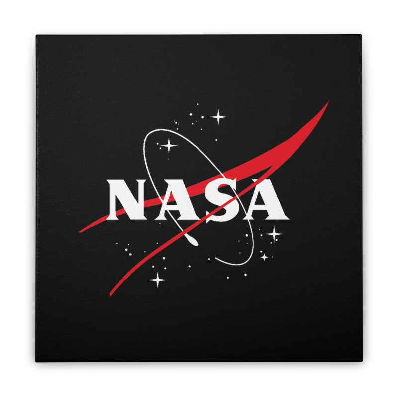 Pure NASA Home Stretched Canvas by To Boldly Merch