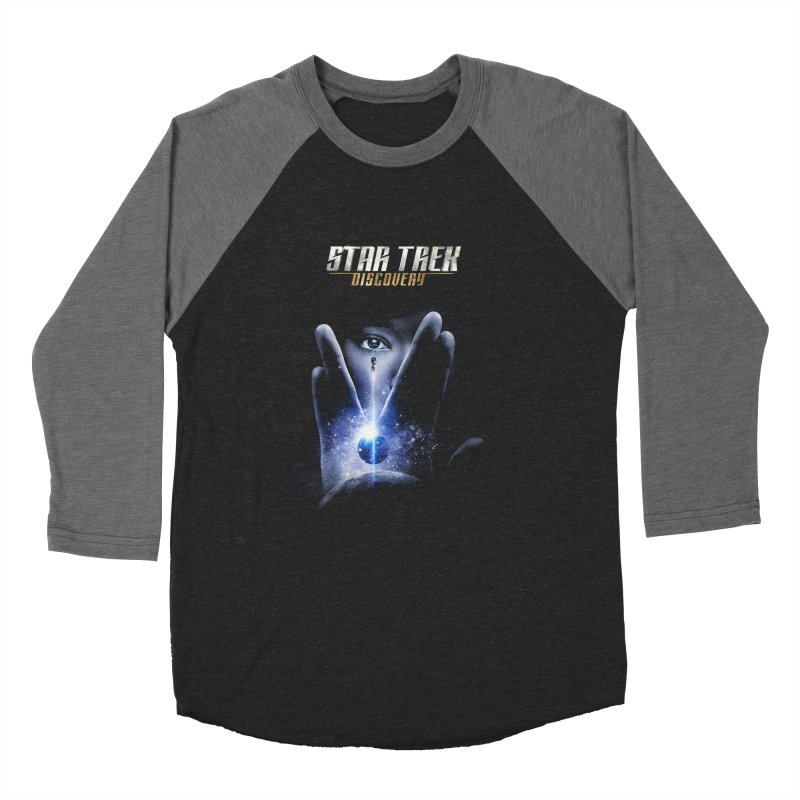 Star Trek Discovery Women's Baseball Triblend T-Shirt by To Boldly Merch